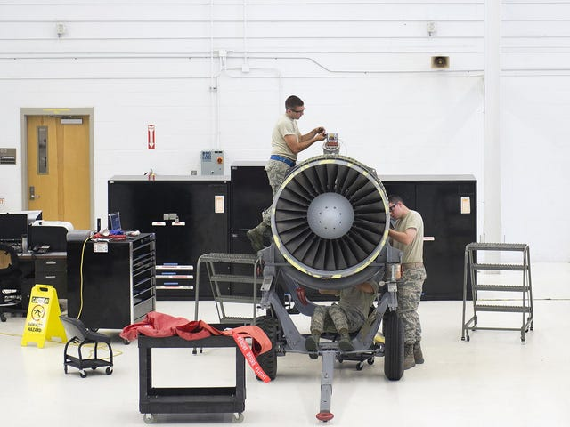 This Air Force Workshop Is Like an Engineering Operating Theater