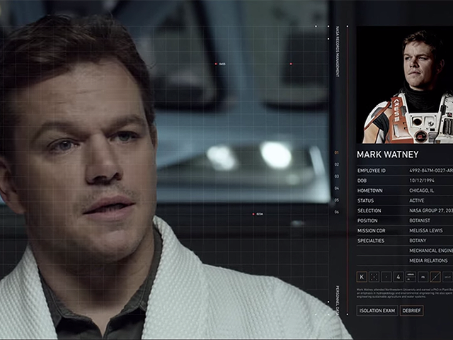 Mat Damon es perfecto para The Martian