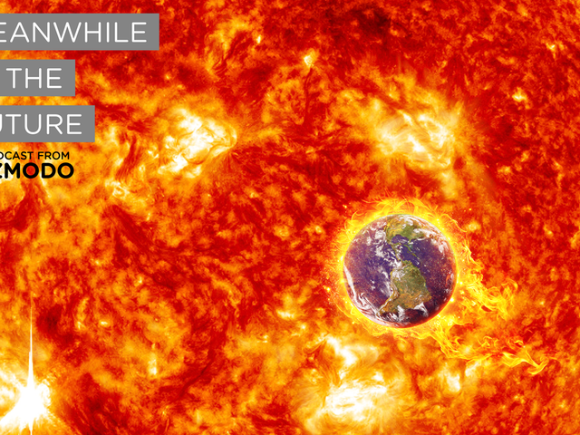 Meanwhile in the Future: The Earth Is Falling Into the Sun