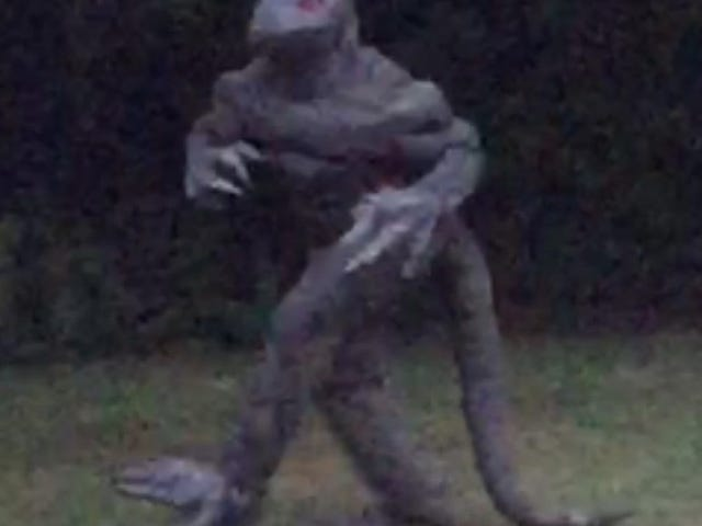 Lizard Man Is Back in South Carolina, and Looking Good