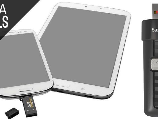 Diese Discount-Flash-Laufwerke funktionieren auch mit Android und iOS