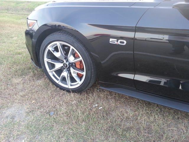 Roues Mustang .... peinture de mauvaise qualité?
