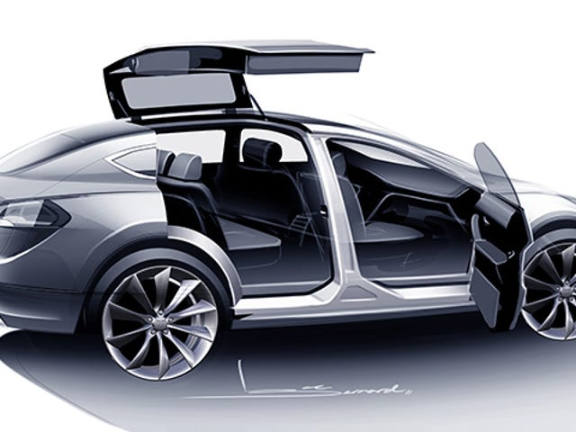 The Tesla Model X Is Finally Coming Next Month