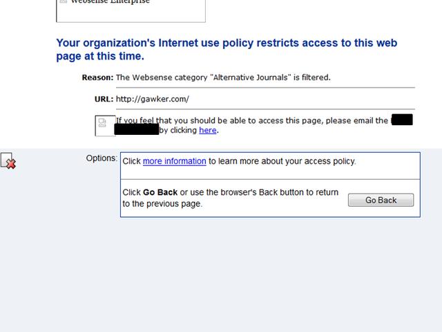 Για μία φορά, είμαι ευγνώμων για τον αποκλεισμό του διαδικτύου