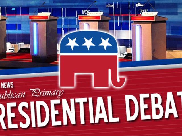 Quelle heure est le débat primaire républicain
