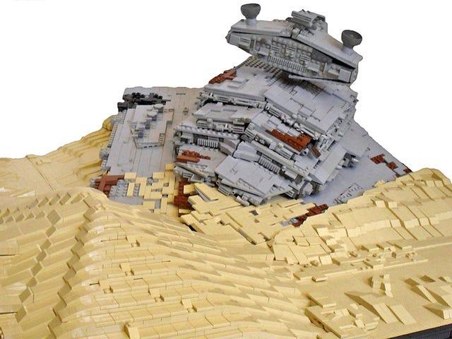 Denna Lego-modell avslöjar skönheten hos en kraschad Star Destroyer