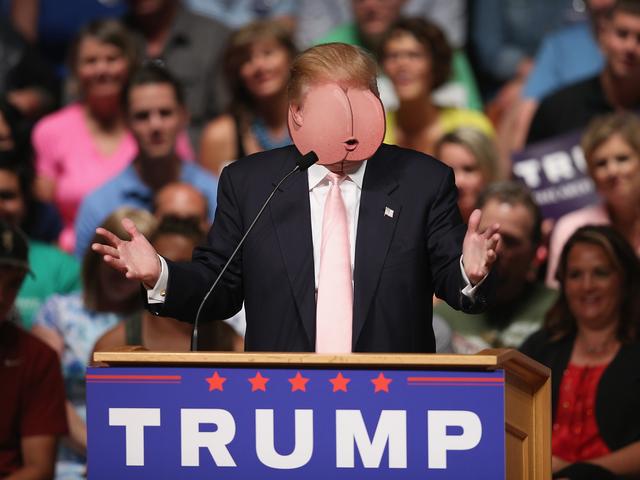 Pysäytä, että Donald Trump juoksee presidentille