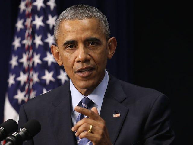 Obama appelle GOP pour des lois sur l'identification des électeurs Bullshit