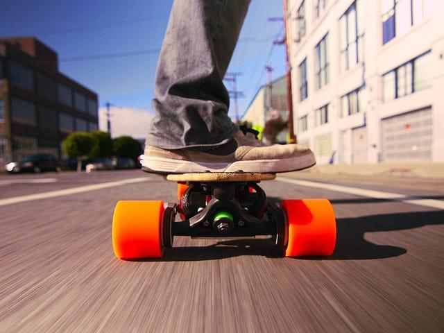 Οι χάκερ μπορούν να καταλάβουν τα ηλεκτρικά skateboards τώρα