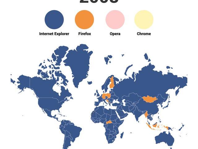 Xem Chuyển đổi thế giới từ Internet Explorer sang Chrome