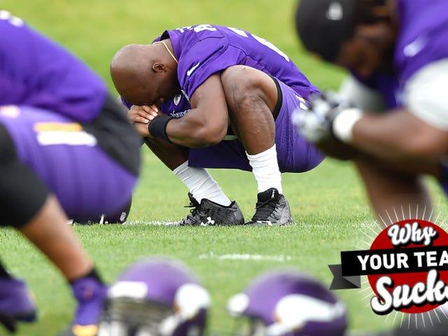 Por qué tu equipo chupa 2015: Minnesota Vikings
