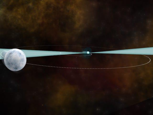 그래, 중력의 힘은 우주 전체에서 같다.