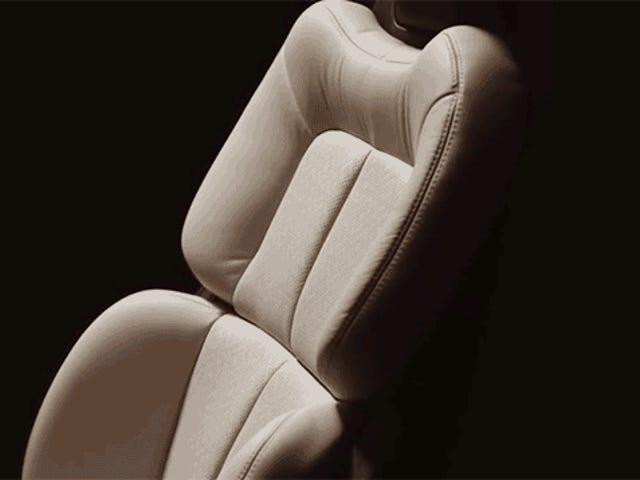 Ford's nieuwe luxe autostoeltjes passen zich aan uw individuele bilwang aan