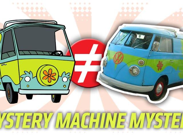 ประกาศการให้บริการสาธารณะ: <i>Mystery Machine</i> ไม่ใช่ VW Microbus