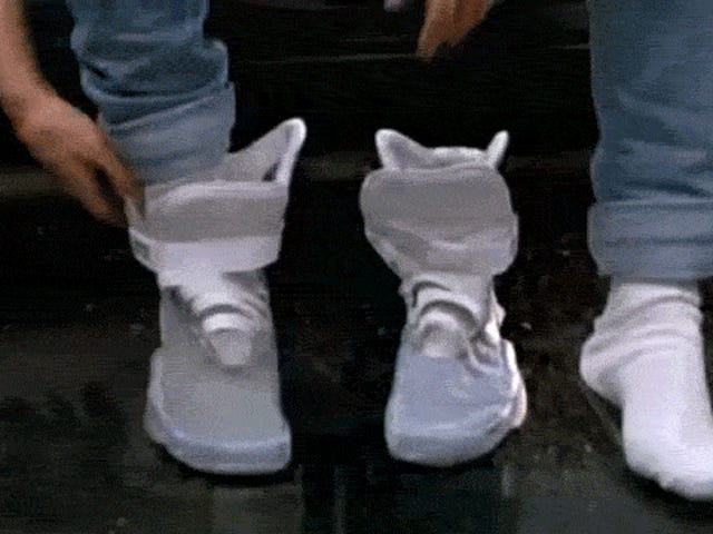 Dear Nike, When Can We Expect Those Shoes FromBack to the Future II?