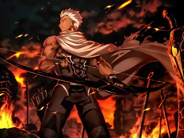 <i>Fate/Stay Night: Unlimited Blade Works</i> on Netflix