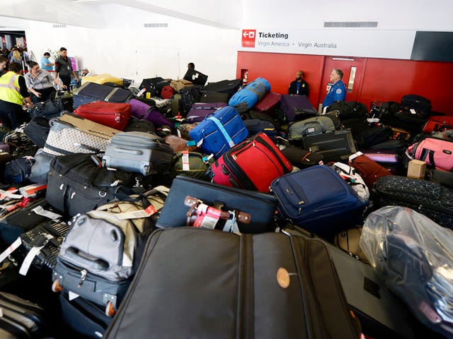 Airlines Aren't Just Screwing You — They're Fucking With Your Bags, Too