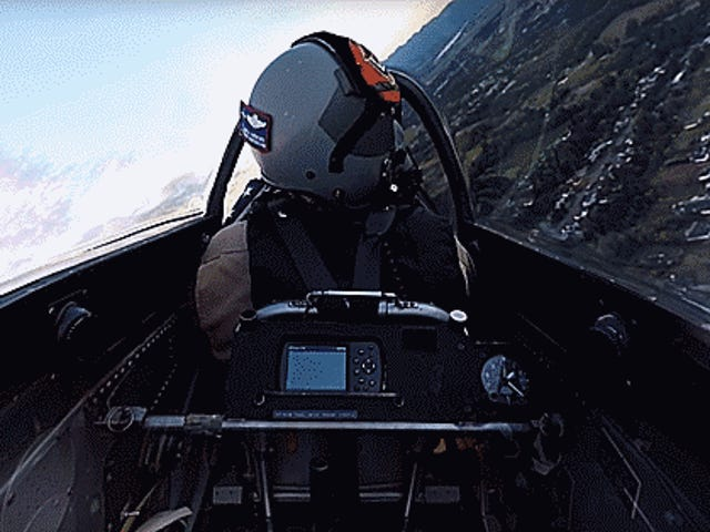 Take A 360° Flight In A P-51 Mustang With An F-22 As Your Wingman