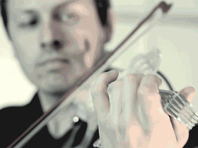 Un violon électrique imprimé en 3D, à la hauteur de la réalité
