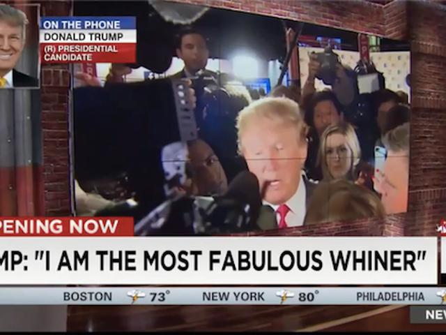 Donald Trump erklærer Self 'Most Fabulous Whiner'