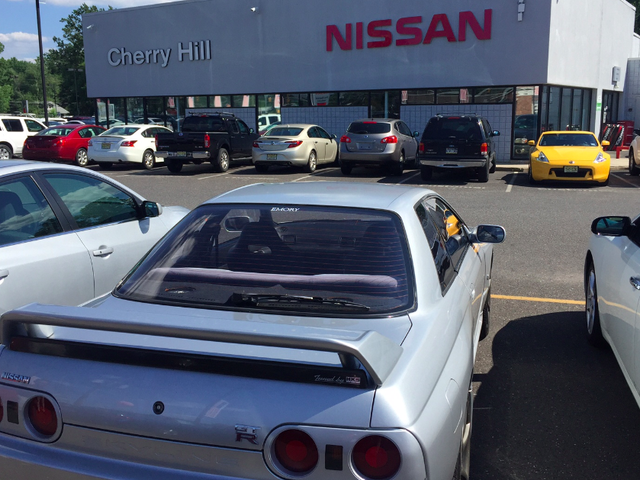 I Took My Imported Nissan Skyline GT-R To A Nissan Dealer For Service