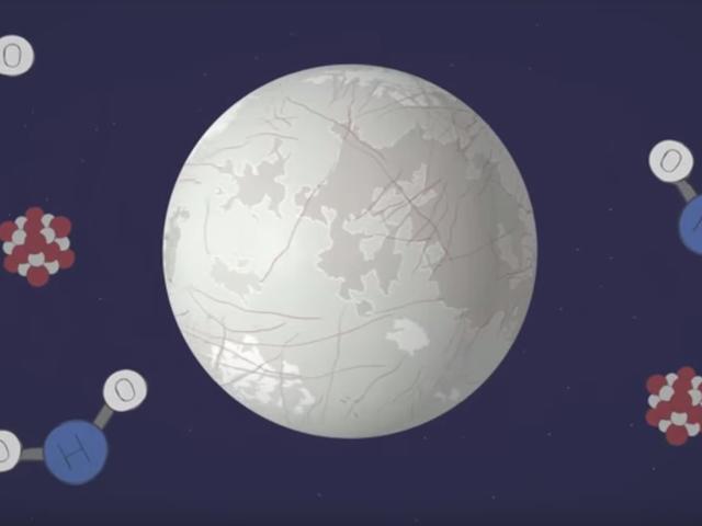 Europa tem um oceano?