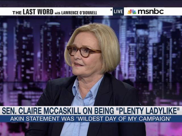 Devlet sözcüsü Claire McCaskill'den 'Kneepad'lerini Getirmek İçin' Bill'i Geçmesini İstedi