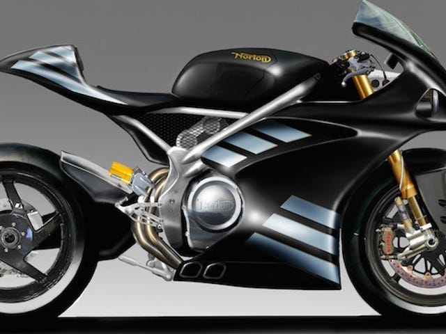 Norton Developing 1,200cc V4 Superbike To Compete With Ducati