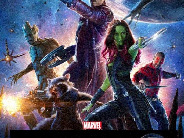 I guardiani della galassia erano i fantastici quattro film che Marvel non poteva realizzare?