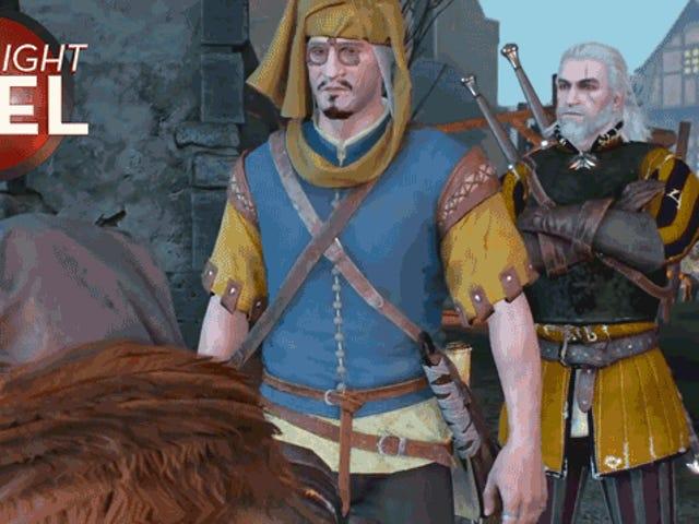 Geralt tekee NPC: n maagisesti häviää