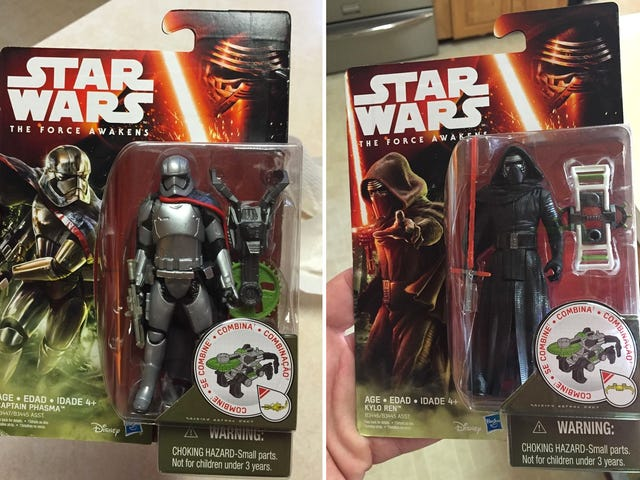 And so Begins the Slow and Steady Leak of <i>Star Wars: The Force Awakens</i> Toys