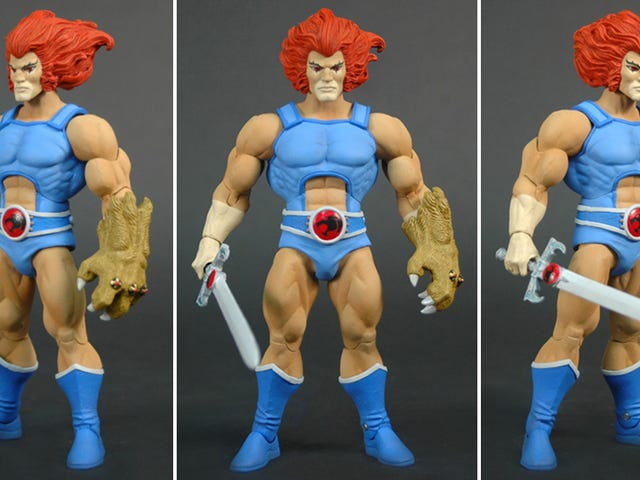 The New Thundercats Figures Are Looking Amazing