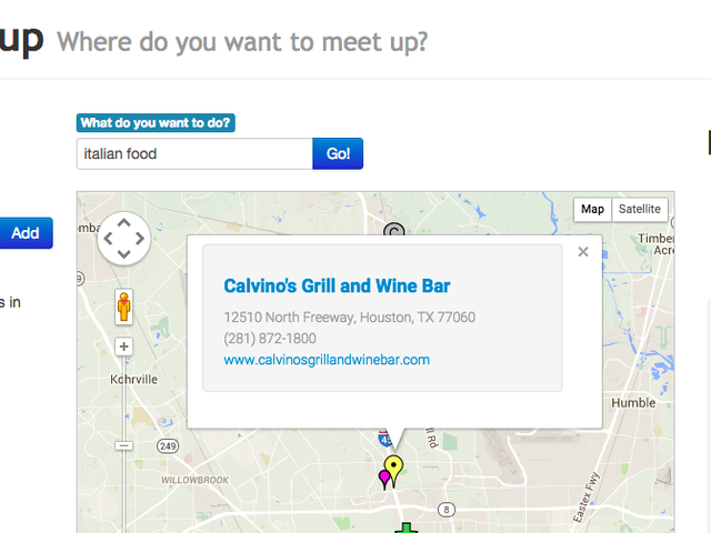 MidwayMeetup Finds a Central Location to Meet Up With Someone