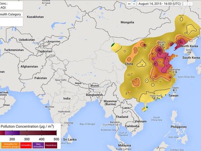 Den forfærdelige luftforurening i Kina dræber 4.000 mennesker hver dag