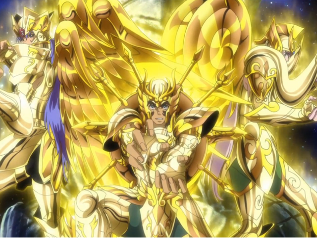 In the Latest Chapter Of...Saint Seiya Soul of Gold (Ch.10)