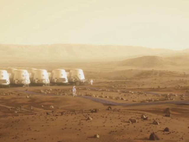 Марс все еще полностью полный дерьма