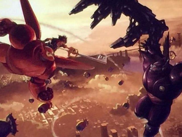 Kingdom Hearts III blir en Big Hero 6 värld