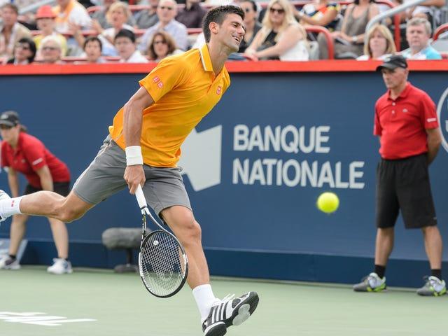Stop med at ryge ukrudt omkring Novak Djokovic