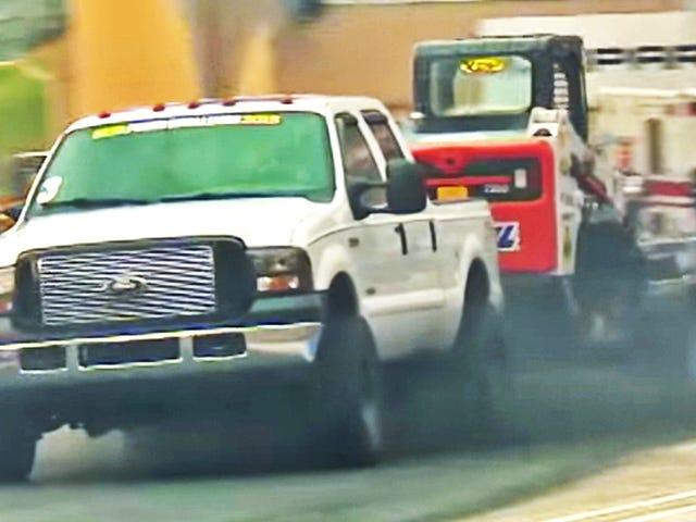 这款柴油发动机中最弱的卡车有1190 LB-FT扭矩
