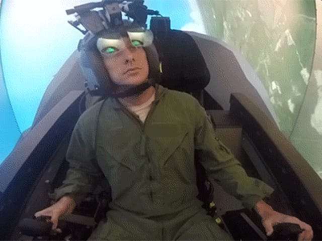 The crazy simulator where pilots learn how to fly the F-35