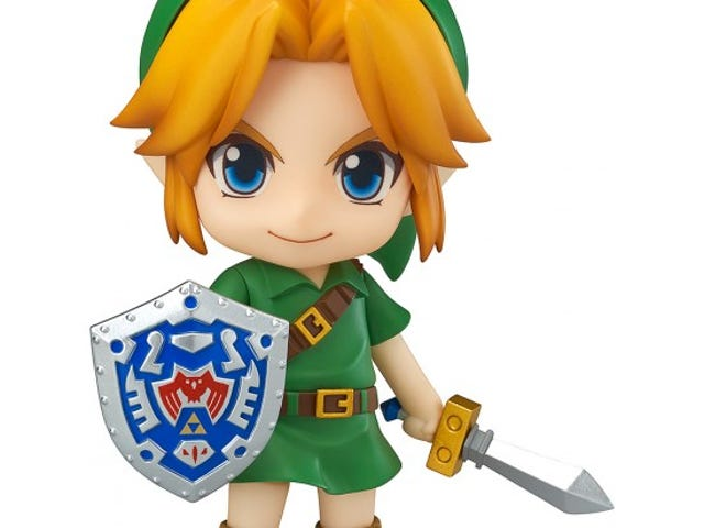 La légende de Zelda: Nendoroid lien de masque 3D de Majora