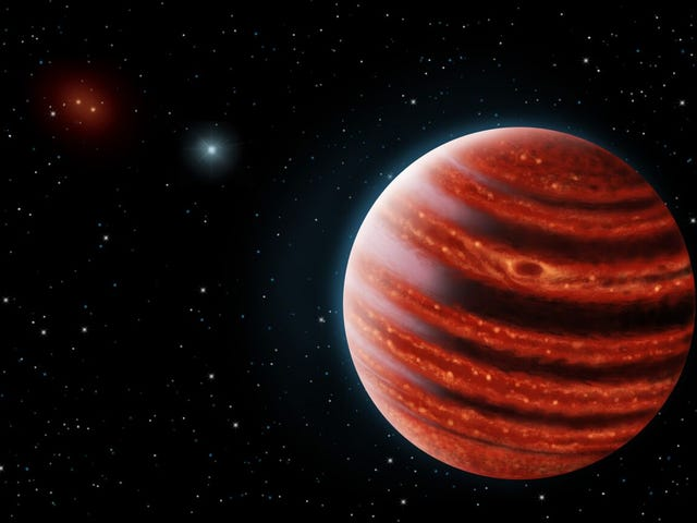 """Astronomers Discover """"Young Jupiter"""" Exoplanet"""