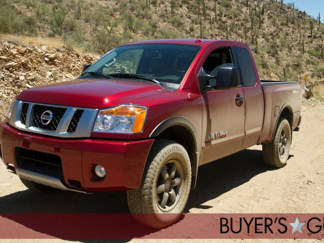 Nissan Titan: Jalopnik Buyer's Guide