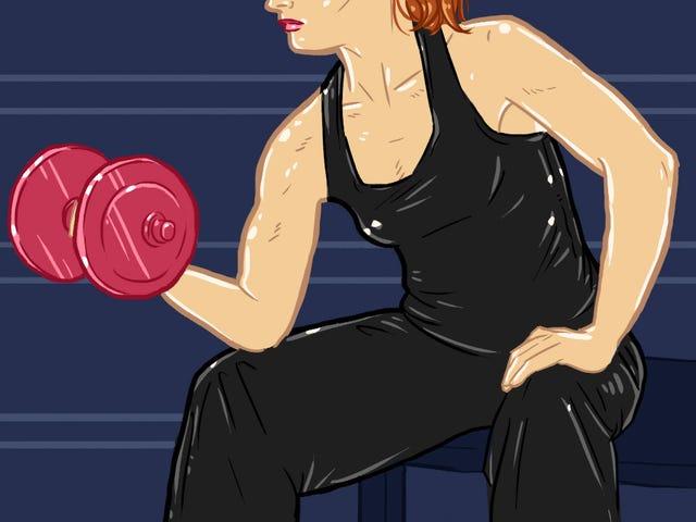 Hopp over de små vikene: Vektløfting er ikke så forskjellig for kvinner