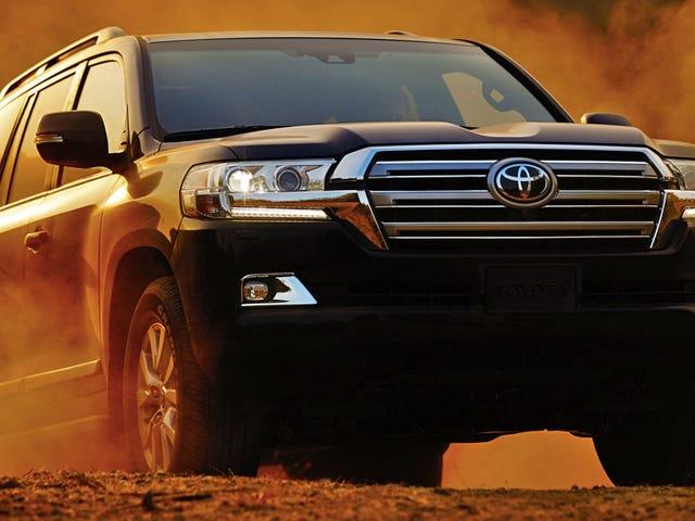 De New Land Cruiser heeft de eerste 8-speed en meer off-roadtechnologie van Toyota