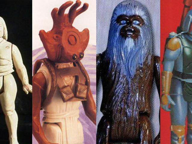 9 Star Wars-leksaker som var annullerade innan någon kunde köpa dem