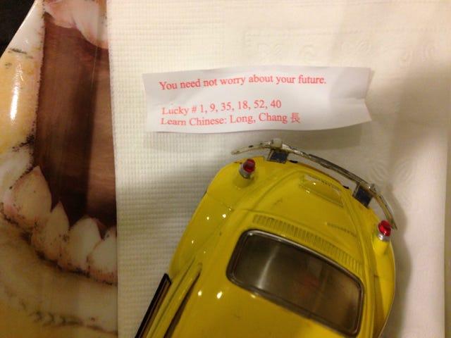 Ang Fortune Cookies ay Bullshit