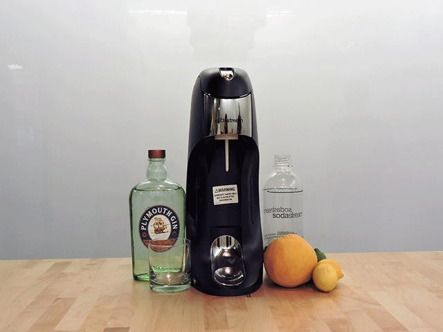 Lav lækre, mousserende cocktails med sodastream