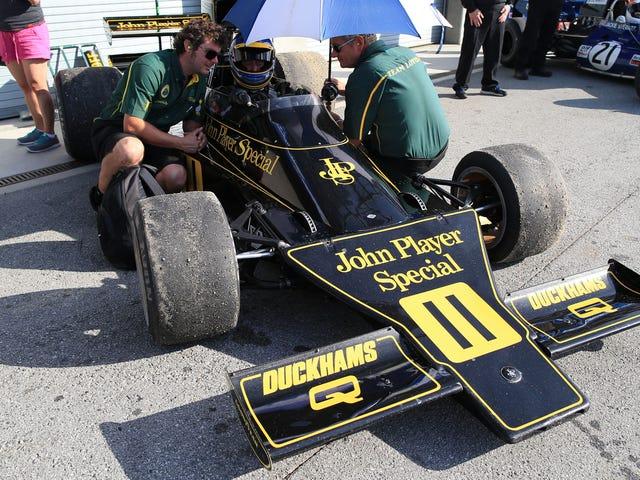 F1-bilerne fra 1970'erne var værker af ingeniørkunst