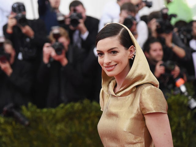 Not Even TV Is Safe From Anne Hathaway's Clammy Embrace